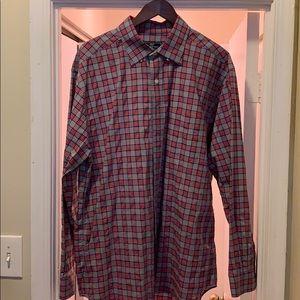 Vineyard Vines plaid dress shirt